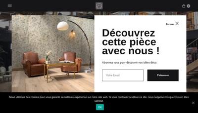 Site internet de Architecture & Materiaux Authenti
