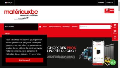 Site internet de Bc Groupe SARL