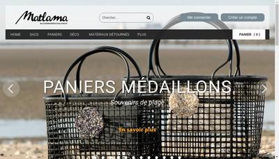 Site internet de Matlama