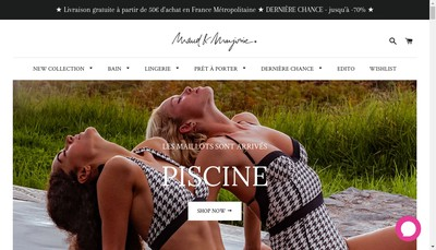 Site internet de Maud & Marjorie