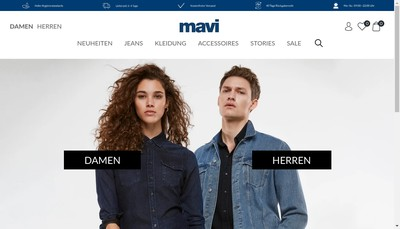 Site internet de Mavi