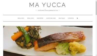 Site internet de Ma Yucca