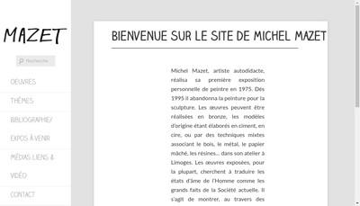 Site internet de Michel Mazet