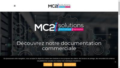 Site internet de Mc2I Solutions