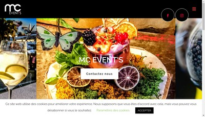 Site internet de Mc Event'S