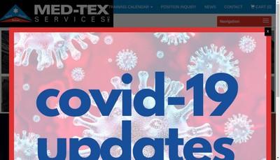 Site internet de Tex Services