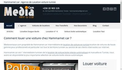 Site internet de Media Rent