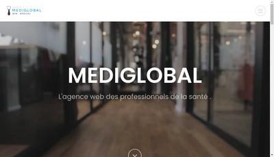 Site internet de Medi Global