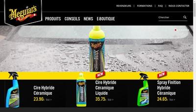 Site internet de Meguiar'S France