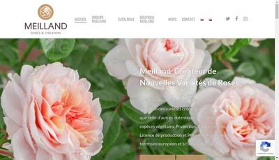 Site internet de Meilland International