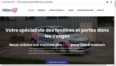 Site internet de Perry SAS
