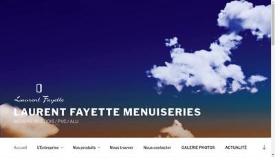 Site internet de EURL Fayette Pvc