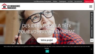 Site internet de Les Menuiseries Francaises,Gimm Menuiseries