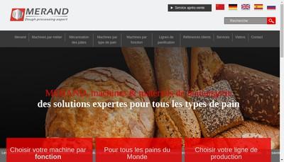 Site internet de Merand Mecapate