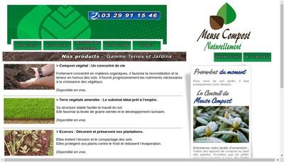 Site internet de SARL Meuse Compost