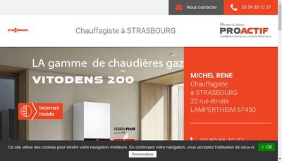 Site internet de SARL Michel Rene