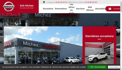 Site internet de Michez