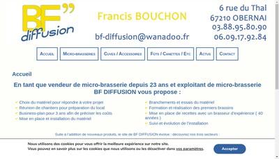 Site internet de Bf Diffusion