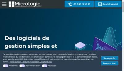 Site internet de Micrologic