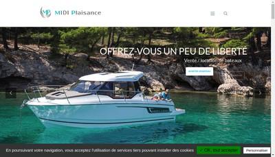 Site internet de Midi Plaisance