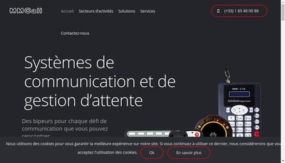 Site internet de Mmcall France
