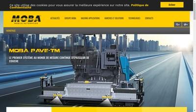 Site internet de Moba France