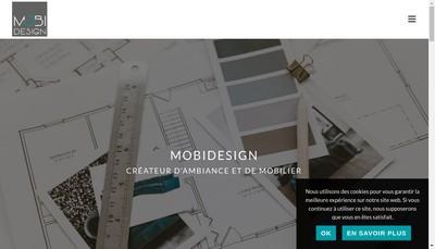 Site internet de Mobi Design France