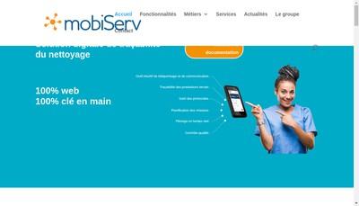 Site internet de Mobiserv