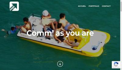 Site internet de Mojo Comm'