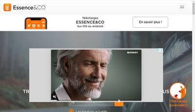 Site internet de Essence