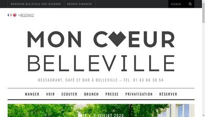 Site internet de Moncoeur Belleville