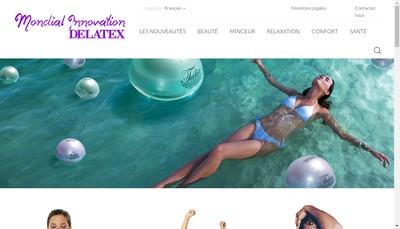 Site internet de Delatex