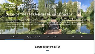 Site internet de Monnoyeur