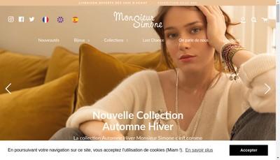 Site internet de Monsieur Simone