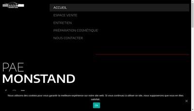Site internet de Mon Stand