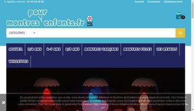 Site internet de Baby Watch