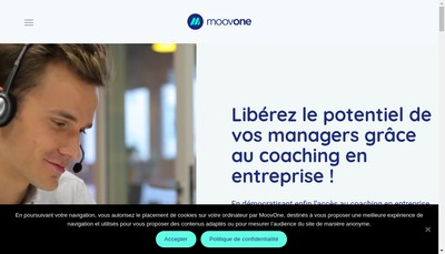 Site internet de Moovone