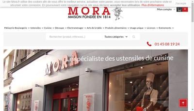 Site internet de Mora