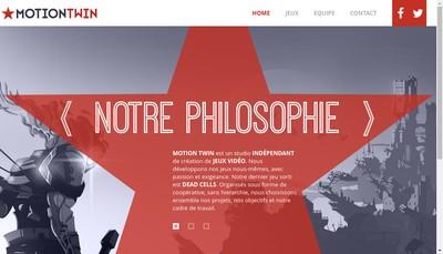 Site internet de Motion Twin