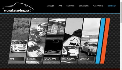 Site internet de Mougins Auto Sport
