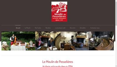 Site internet de Moulin de Pesselieres