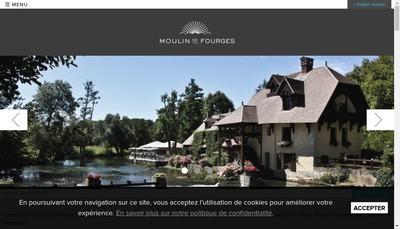 Site internet de Le Moulin de Fourges