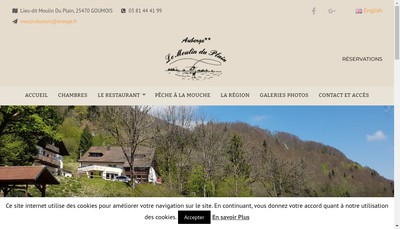 Site internet de Le Moulin du Plain