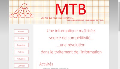 Site internet de Mtb