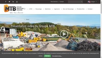 Site internet de Mtb Group