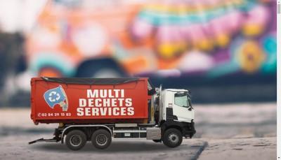 Site internet de Multi Dechets Services