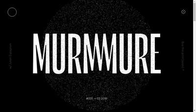 Site internet de Murmure