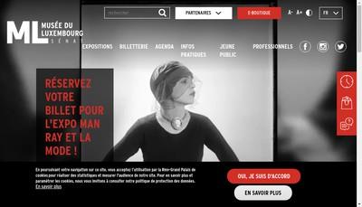 Site internet de Rmn-Musee du Luxembourg