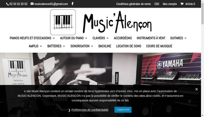 Site internet de Music Leader International