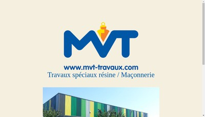 Site internet de Mvt - Resine